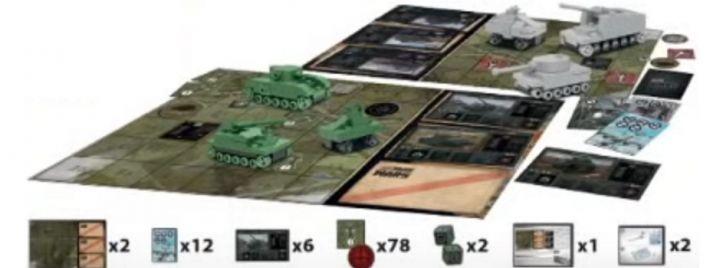 COBI 22104 Tank Wars Strategie Brettspiel | COBI Small Army