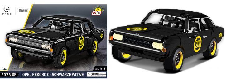 COBI 24333 Opel Rekord C Schwarze Witwe   Baukasten 1:12 kaufen