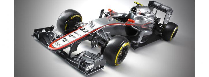 EBBRO 20013 McLaren Honda MP4-30 2015 Early Season | Auto Bausatz 1:20