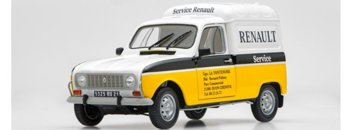 EBBRO 25012 Renault 4 Fourgonnette Service Car   Auto Bausatz 1:24