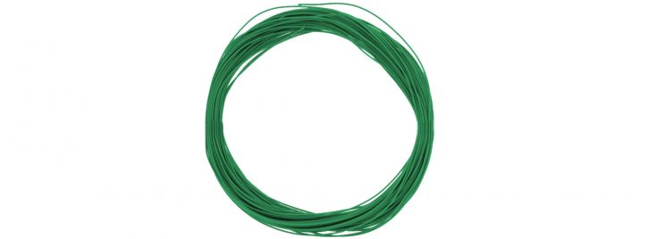 ESU 51945 Hochflexibles Kabel | grün | Ø 0,5 mm | AWG36 | 10 Meter