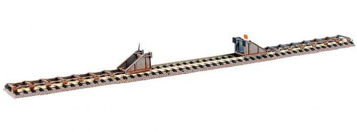 FALLER 120322 Prellböcke mit Scherenbremsen | 2 Stück | Bausatz Spur H0