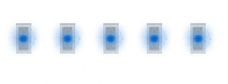 FALLER 163751 SMD-LEDs blau | 5 Stück | Beleuchtung-Zubehör