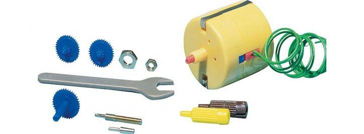 FALLER 180629 Synchron-Bastelmotor gelb | für 12 - 16 Volt Wechselstrom