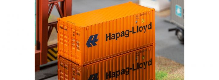FALLER 180826 20 ft Container Hapag Lloyd | Spur H0