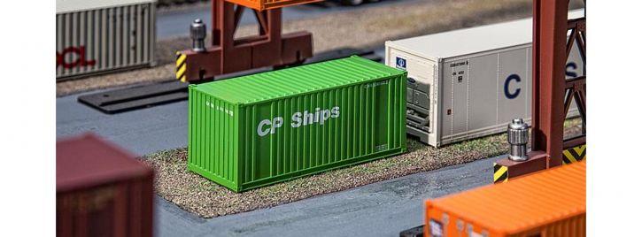 FALLER 180830 20ft Container CP Ships Fertigmodell 1:87