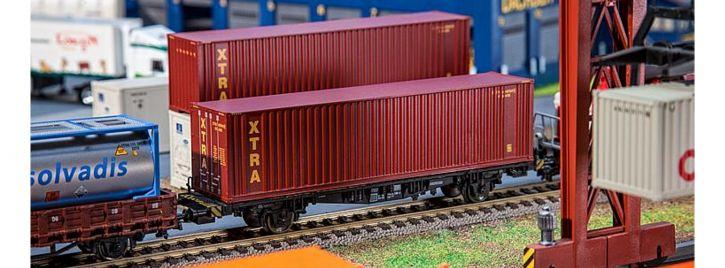FALLER 180850 40ft High-Cube Container XTRA Fertigmodell 1:87