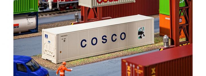 FALLER 180851 40ft Hi-Cube Kühlcontainer COSCO   Spur H0