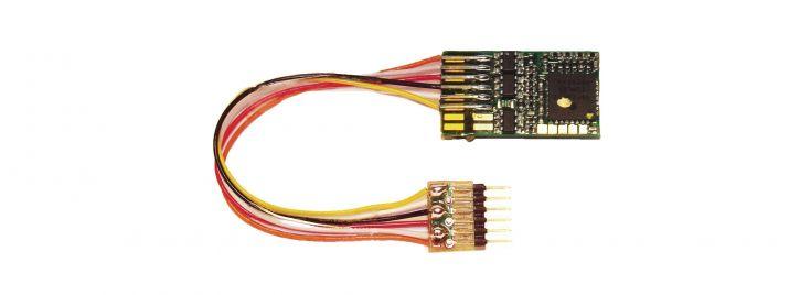 FLEISCHMANN 687403 DCC-Decoder RailCom 6-pol Kabel | Spur H0 + N