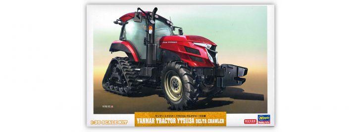 HASEGAWA 66104 Yanmar Traktor mit Raupe | Landwirtschafts Bausatz 1:35