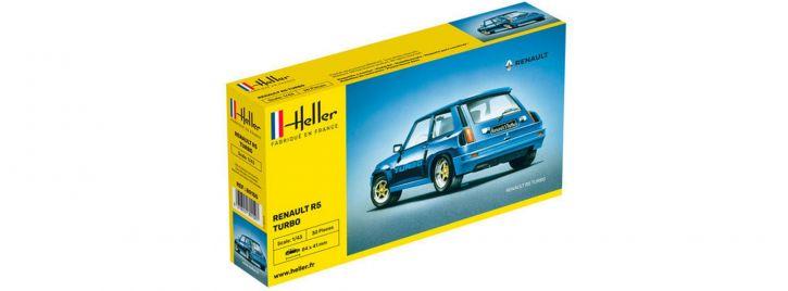 Heller 80150 Renault R5 Turbo | Auto Bausatz 1:43