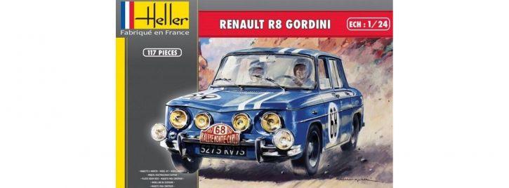 Heller 80700 Renault R8 Gordini | Auto Bausatz 1:24