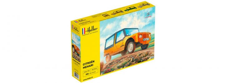 Heller 80760 Citroen Mehari (Version 1)   Auto Bausatz 1:24