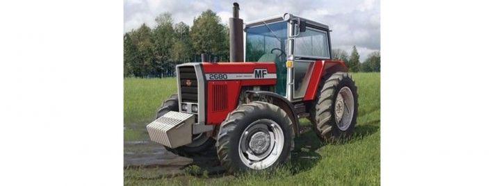 Heller 81402 Massey Ferguson 2680   Traktor 1:24