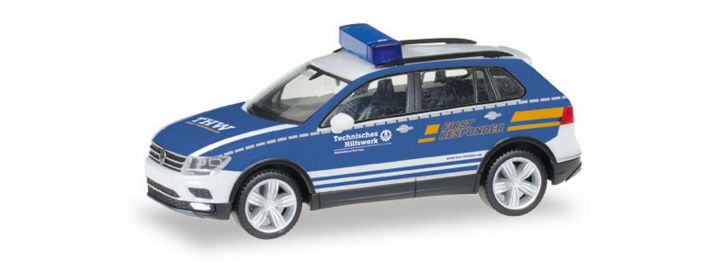 1//87 Herpa VW Tiguan THW Dachau 093231