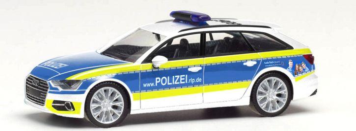 1//87 Herpa Audi A6 Avant Polizei Versuchsfahrzeug 095860