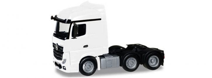 herpa 305174-003 MB Actros StSp 6x2 Zgm weiss | LKW-Modell 1:87