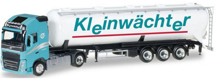 herpa 307086 Volvo FH Gl Silo Kleinwächter   LKW-Modell 1:87