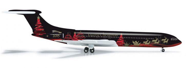 herpa 524513 Vickers VC-10 Christmas 2013 WINGS 1:500