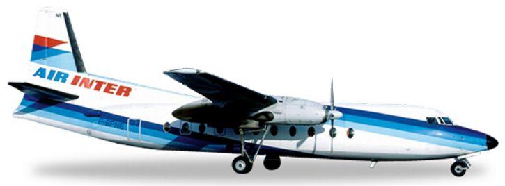 herpa 556965 Fokker 27 Air Inter WINGS 1:200