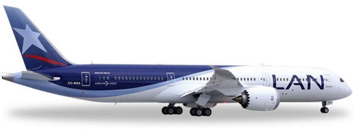 herpa 557405 B787-9 LAN Airlines   WINGS 1:200