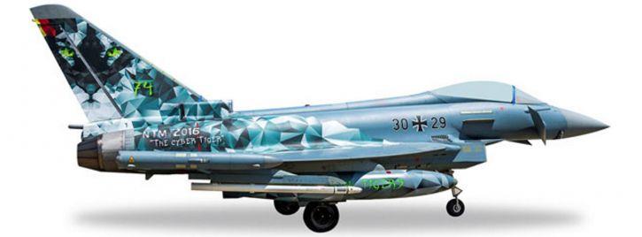 ausverkauft   herpa 558327 Eurofighter Luftwaffe Cyber Tiger   WINGS 1:200