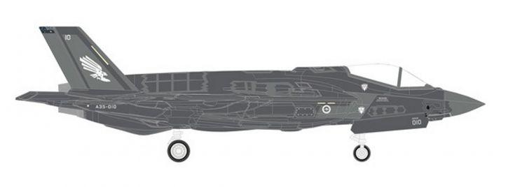 herpa 570534 Lockheed Martin F-35A Royal Australian Air Force  3 Sqd Militärmodell 1:200