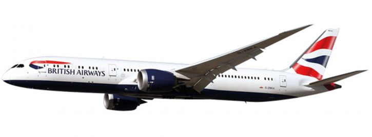 herpa 611572 B787-9 British Airways G-ZBKA | Snap-Fit WINGS 1:200