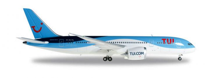 herpa 557757 Boeing 787-8 Dreamliner TUI Airlines PH-TFL Flugzeugmodell 1:200