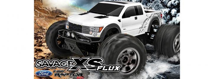 HPI H115125 Savage XS Flux F-150 Raptor SVT 2.4GHz | RC Auto RTR 1:10