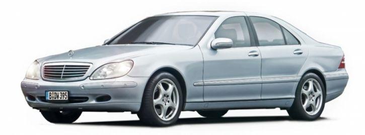 ITALERI 3638 Mercedes Benz 600S   Auto Bausatz 1:24