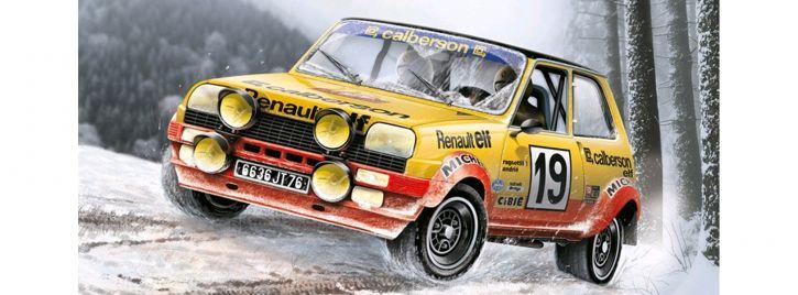 ITALERI 3652 Renault R5 Alpine Rally   Auto Bausatz 1:24