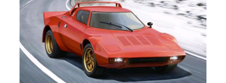 ITALERI 3654 Lancia Stratos HF | Auto Bausatz 1:24