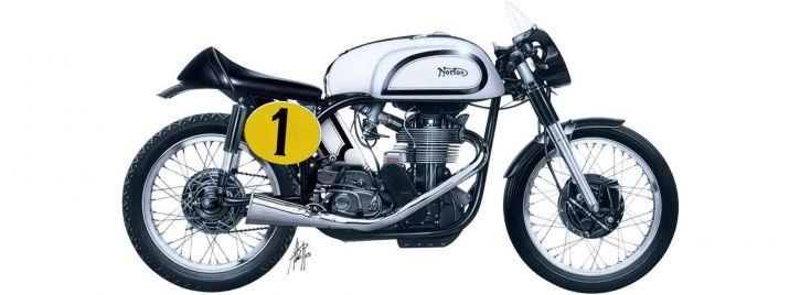 ITALERI 4602 Norton Manx 500cc 1951 | Motorrad Bausatz 1:9 | Online kaufen  bei Modellbau Härtle
