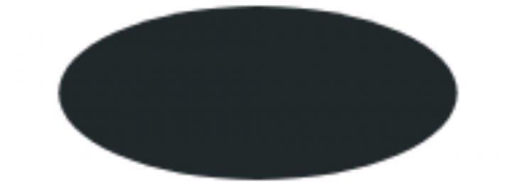 ITALERI 4768 Streichfarbe Schwarz matt   Inhalt: 20 ml