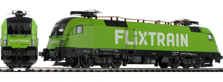 Jägerndorfer 28182 E-Lok BR 182 Taurus FLIXTRAIN | DCC Sound | Spur H0