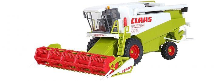kibri 12263 CLAAS Mähdrescher mit Schneid- und Maisgebiss Bausatz Spur H0