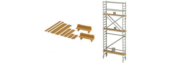 kibri 38145 Baugerüst Deko-Set Bausatz Spur H0