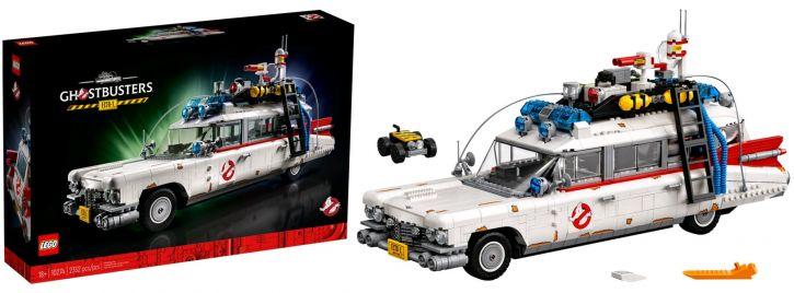 LEGO 10274 Ghostbusters Ecto-1   Auto Baukasten
