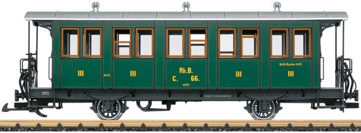 LGB 30342 Personenwagen C 66 3. Kl. RhB | Spur G