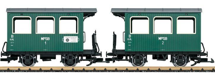 LGB 30402 Personenwagen MPSB | Spur G