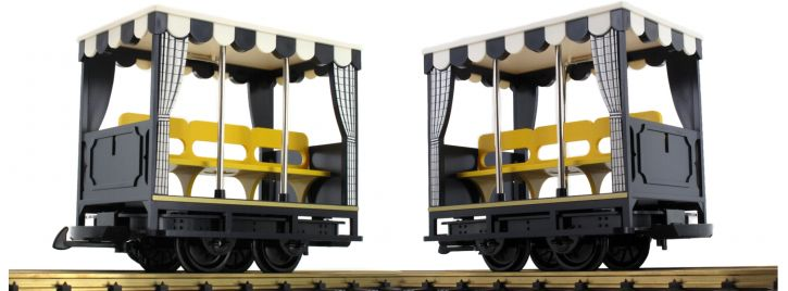 LGB 30421 Feldbahn-Aussichtswagen | Spur G