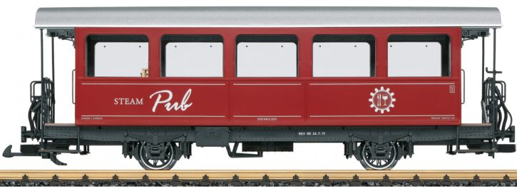 LGB 30560 Barwagen Steam Pub DFB   Spur G