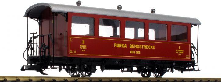 ausverkauft   LGB 30561 Personenwagen 2.Kl. B 2206 DFB   Spur G