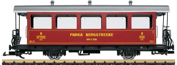 LGB 30562 Personenwagen 2.Kl. B 2210 DFB | Spur G