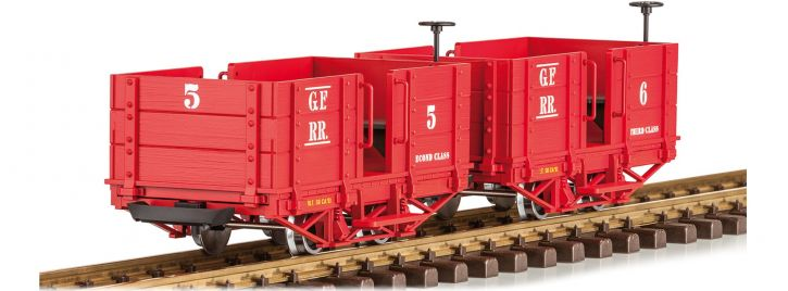 LGB 32441 Personenwagen-Set Grizzly Flats | Spur G