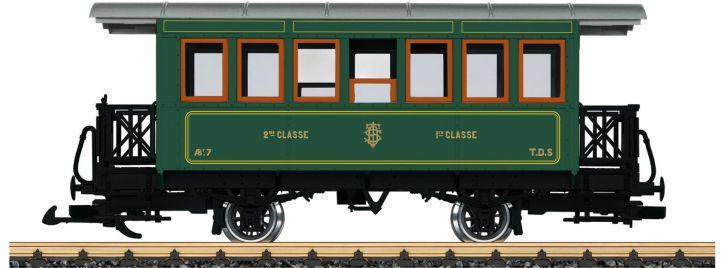 LGB 33202 Personenwagen AB F 7 Museum M.T.V. | Spur G