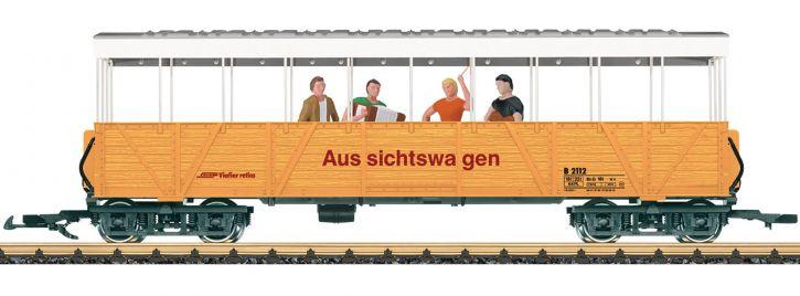 LGB 33353 Offener Aussichtswagen mit Sound | RhB | Spur G