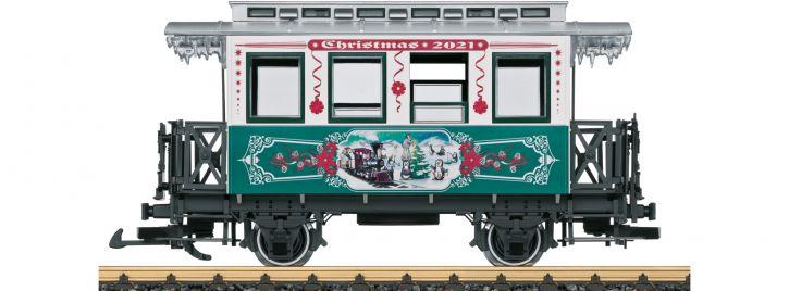 LGB 36021 Weihnachtswagen 2021 | Spur G