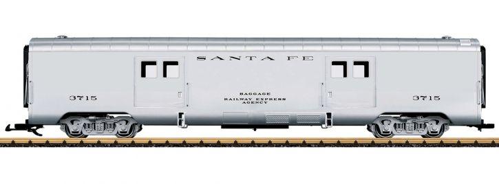 ausverkauft | LGB 36579 Gepäckwagen Santa Fe | Spur G